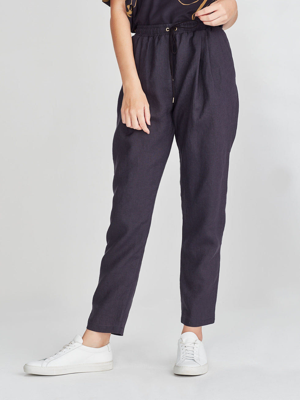 Lorne Pant (Summer Linen) Ink