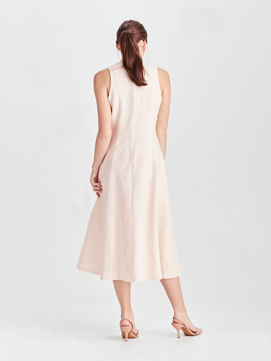 Meredith Dress (Summer Linen) Ballet