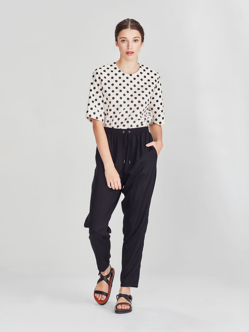 Leonard Pant (Vintage Triacetate) Black