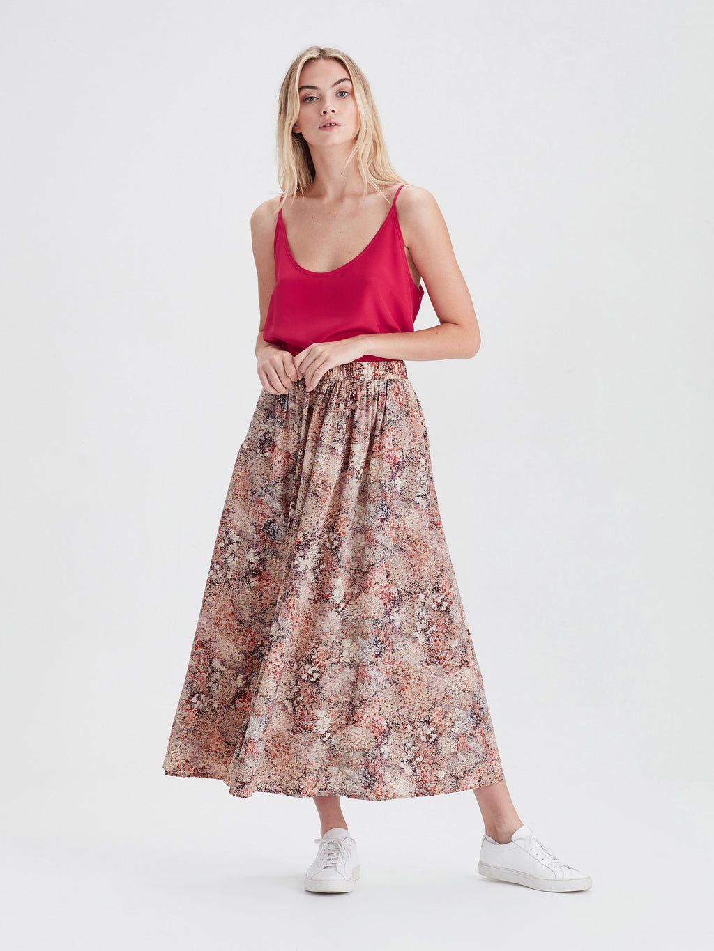 Arcade Skirt (Floral Garden) Bloom