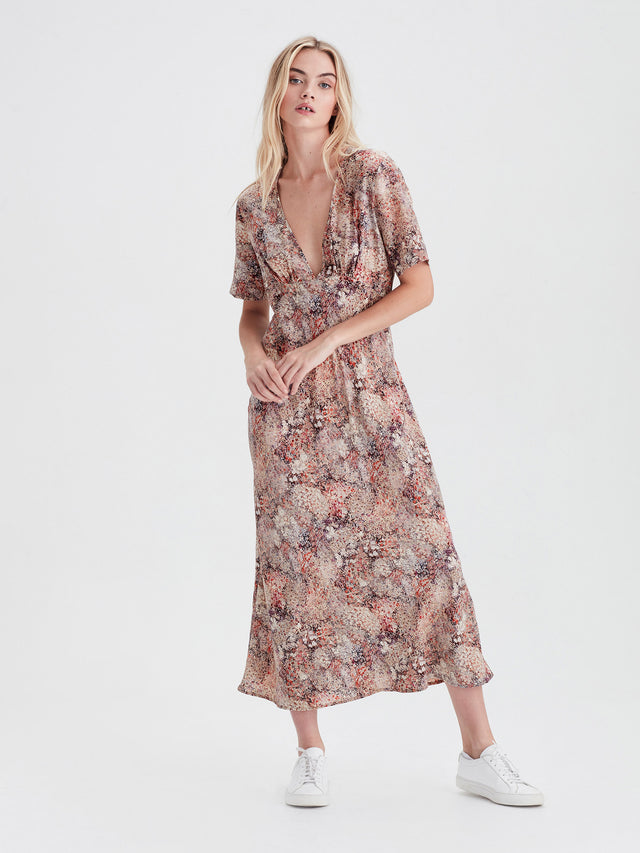 Carmel Dress (Floral Garden) Bloom
