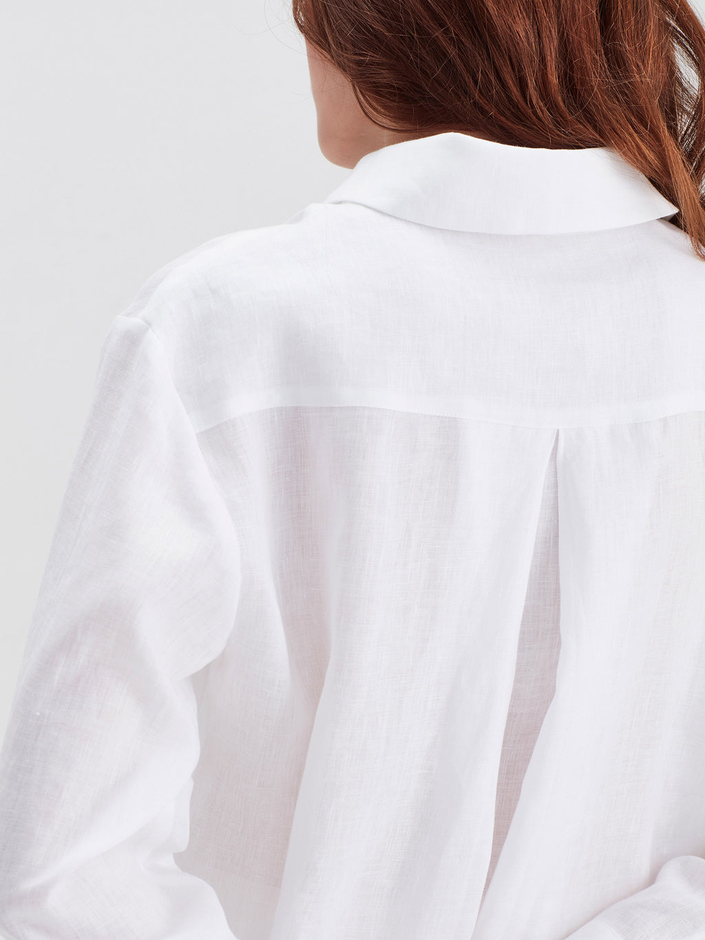 Beauden Shirt (Light Linen) White