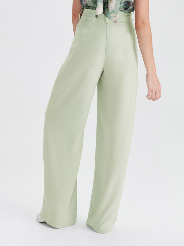 CeeCee Trouser (Luxe Coloured Suiting) Mint
