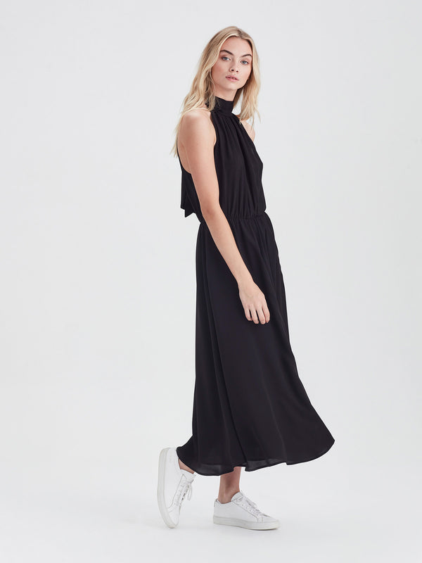 Soiree Dress (Silk CDC) Black