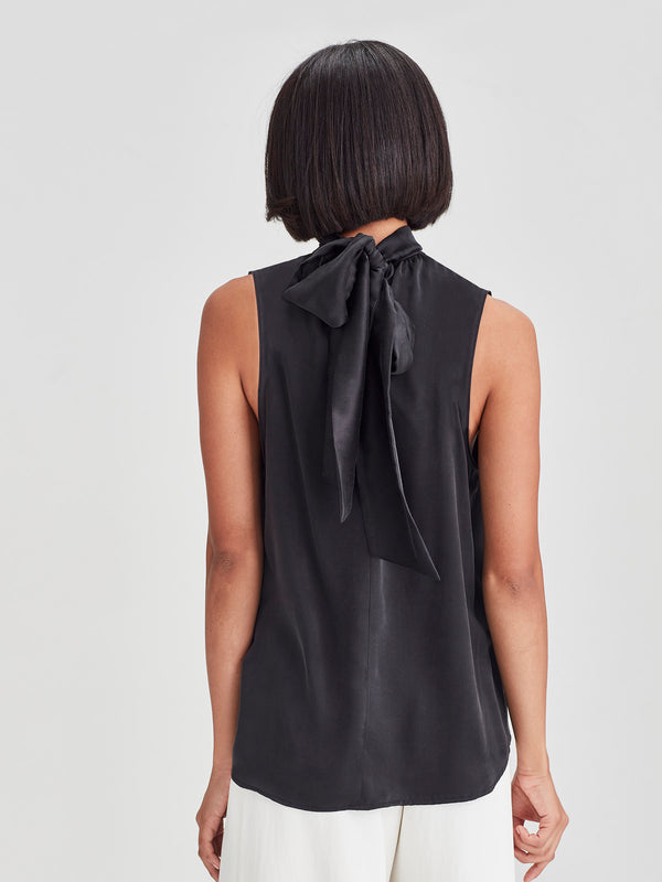 Zen Blouse (Sandwash Silk) Black