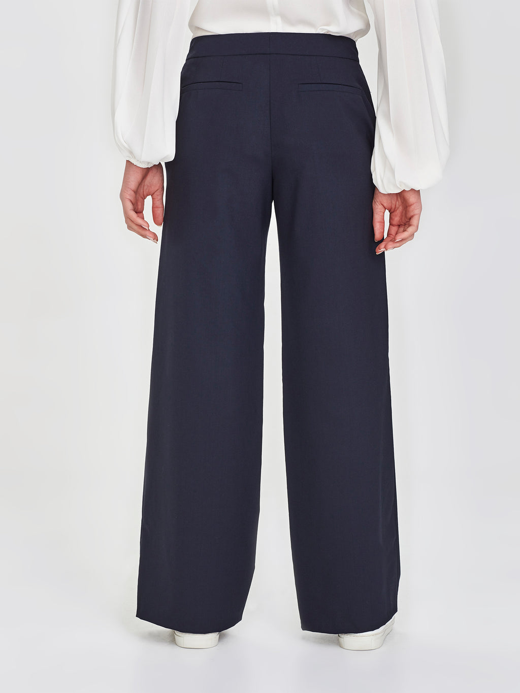 Clapham Pant (Wool Stretch Suiting) Navy