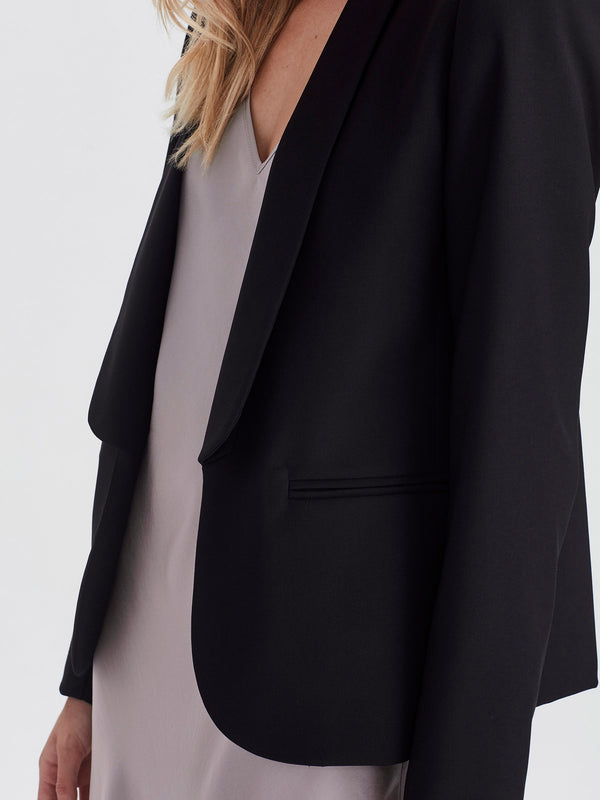 Tuxe jacket (Soft Suiting) Black