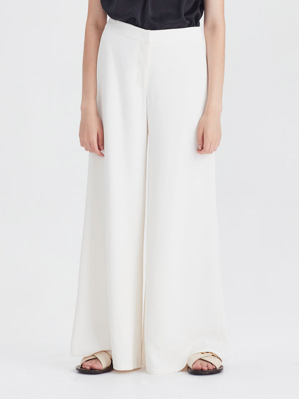 Farrar Pant Petite (Triacetate Twill) Milk