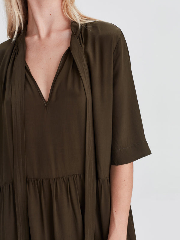 Perfect Tunic (Viscose Silk) Olive
