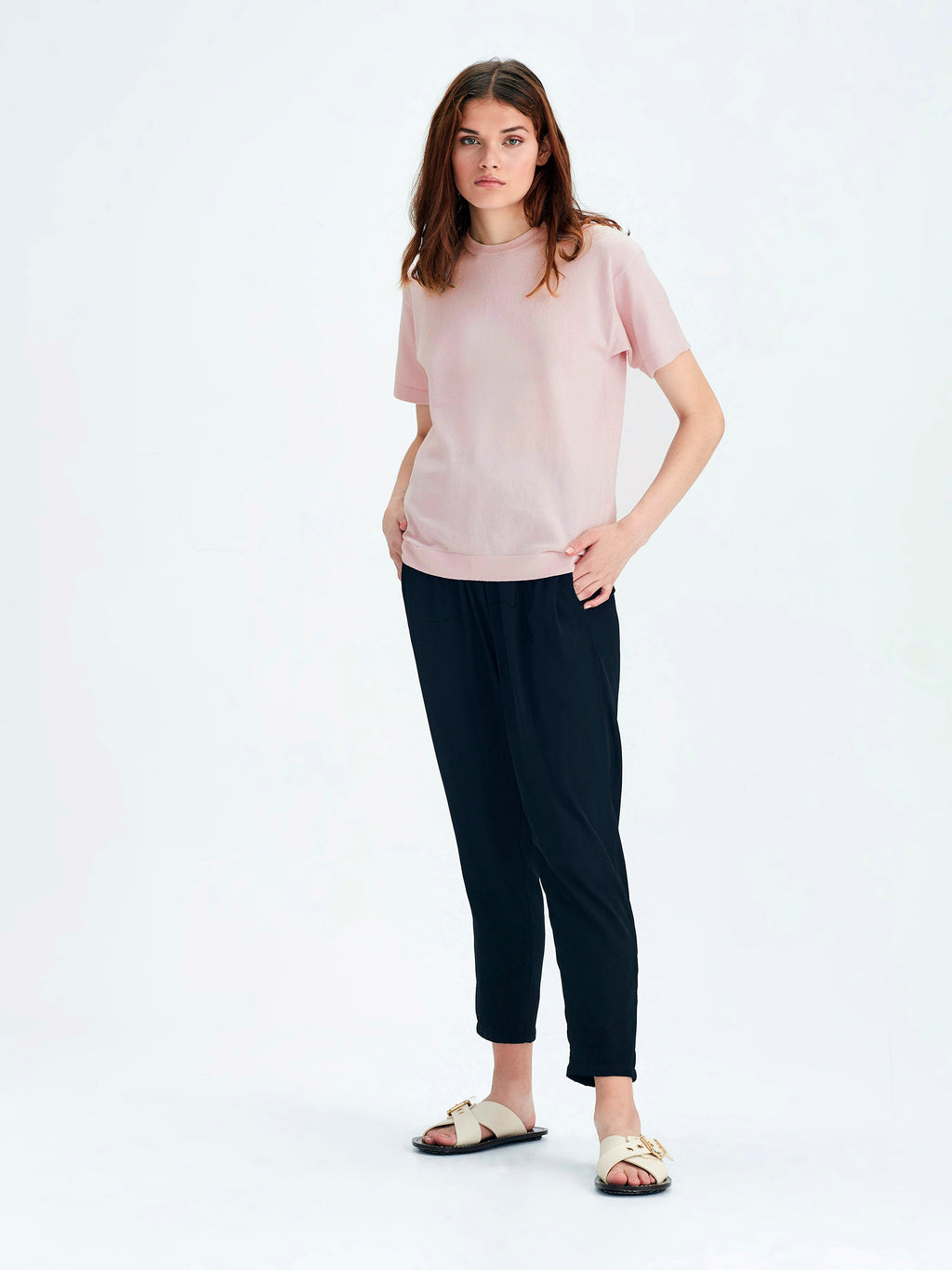 Luxe T (Cotton Cashmere) Peony