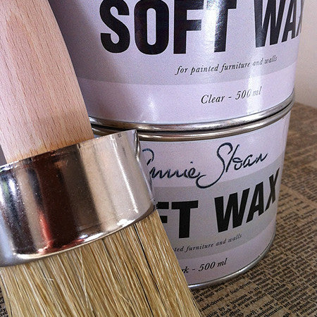 annie sloan clear soft wax