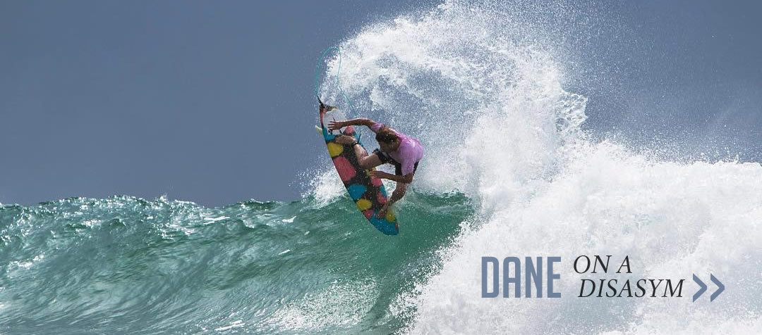Dane Reynolds on a Disasym via Stab Mag