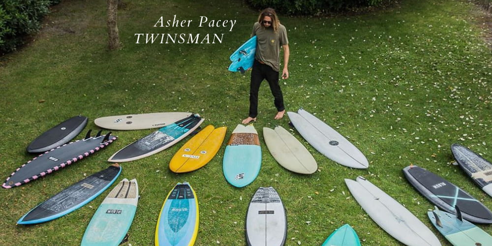 Asher Pacey Twinsman + quiver
