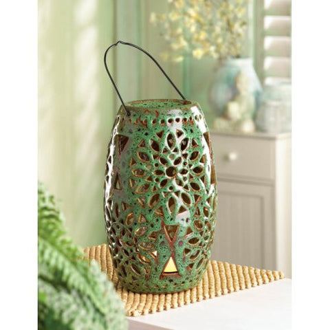 Cutout Candle Lantern With Led Candle
