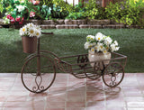 Lonestar Horseshoe Bicycle Planter