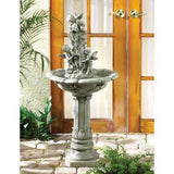 Classic Outdoor Cherub Fountain