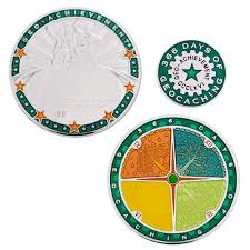 Geocoin 366 dagen Award Set