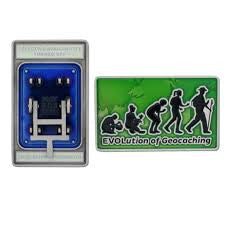 Blue Switch EVOlution Geocoin