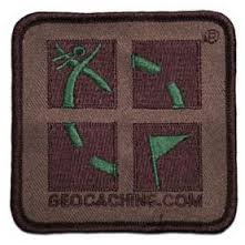 Camo patch geocache