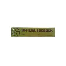 'Official logbook' PET - dun