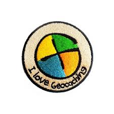 Patch 'I love geocaching'