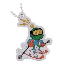 Skiing - Signal the Frog Winter Sports Travel Tag
