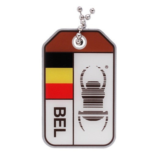 Geocaching Travel Bug Origins - Belgium