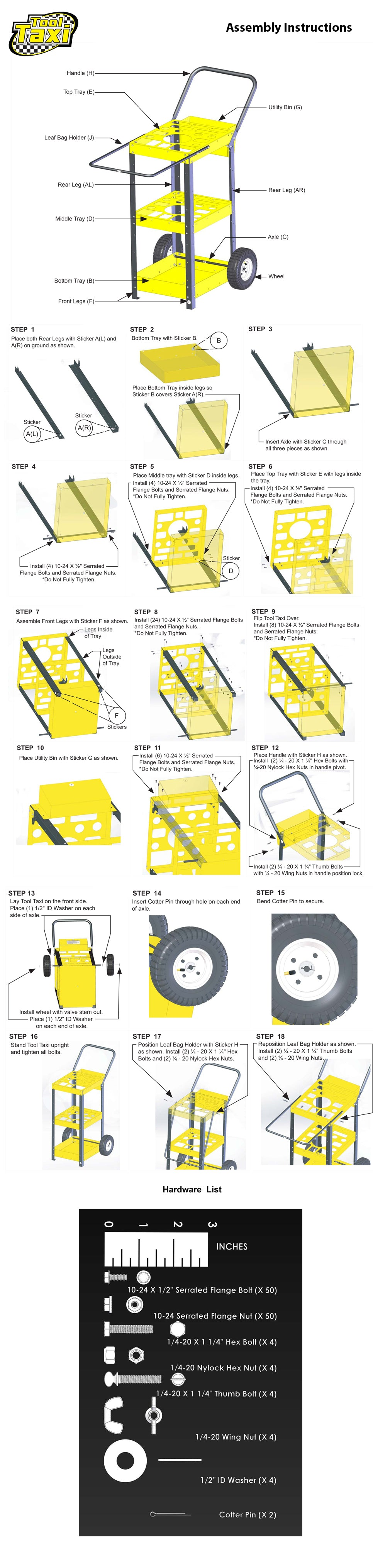 Assembly Instructions Tooltaxihome Of The Ultimate Mobile