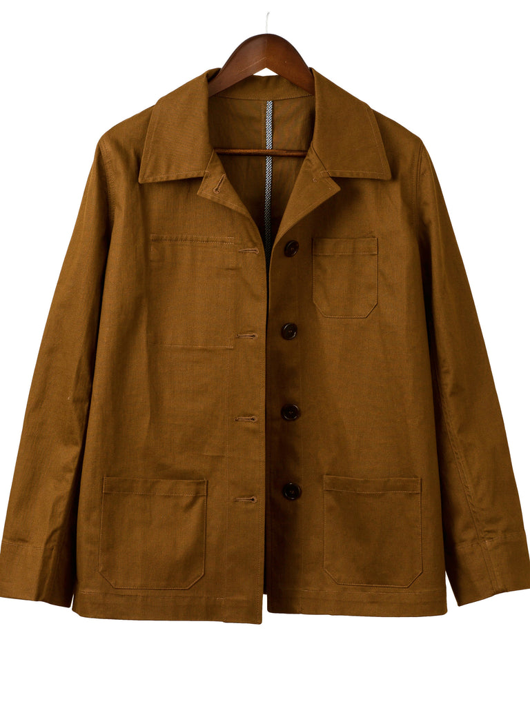Stretch Canvas BUSH JACKET, Hickman & Bousfield - Hickman & Bousfield