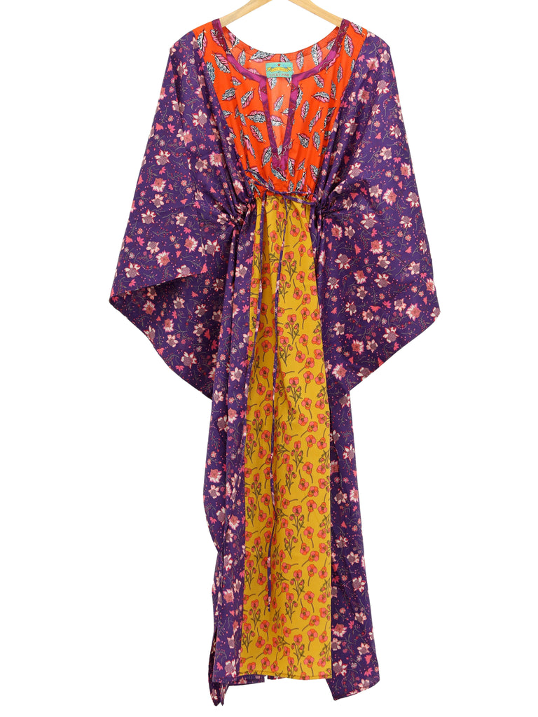 Lulu Baily Long Patchwork Kaftan, lulu baily - Hickman & Bousfield, Safari and Travel Clothing