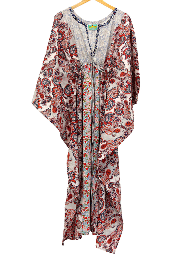 Lulu Baily Long Patchwork Kaftan, Dress, lulu baily - Hickman & Bousfield, Safari and Travel Clothing