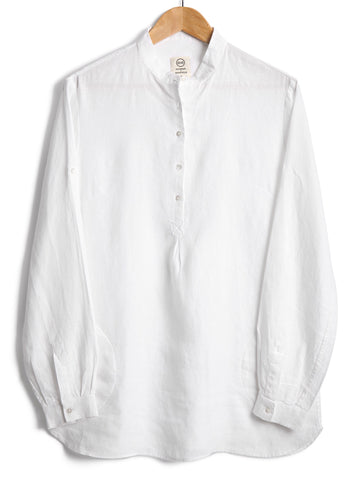 NEW TUNIC IN WHITE LINEN