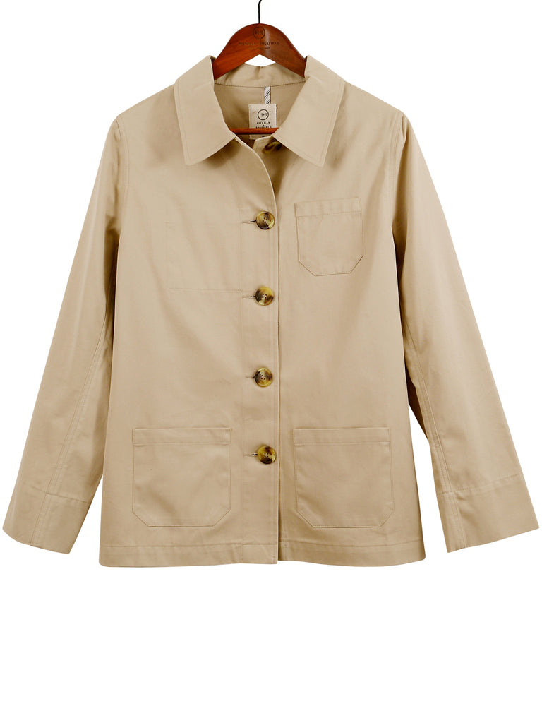 COTTON Twill BUSH JACKET, Hickman & Bousfield - Hickman & Bousfield