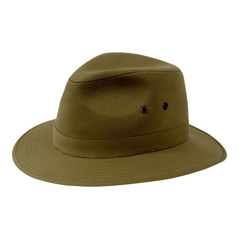 Stiff Canvas Safari Hat