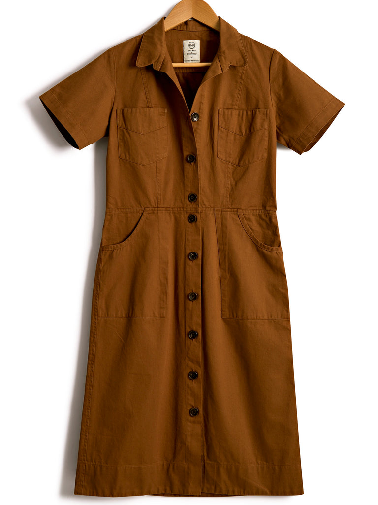 Classic Safari Dress in Antelope, Dress, Hickman & Bousfied - Hickman & Bousfield, Safari and Travel Clothing
