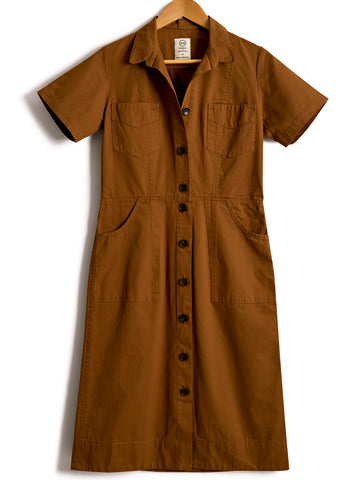 Classic Safari Dress in Antelope