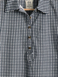 Safari Shirt in Cotton Gingham, Shirt, Hickman & Bousfied - Hickman & Bousfield, Safari and Travel Clothing