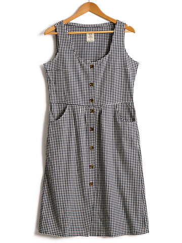 Sundress in Gingham Cotton