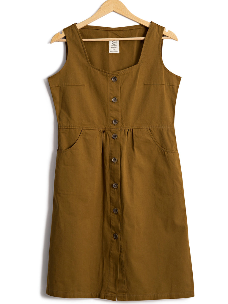 Sundress in Cotton Twill, Dress, Hickman & Bousfield - Hickman & Bousfield, Safari and Travel Clothing