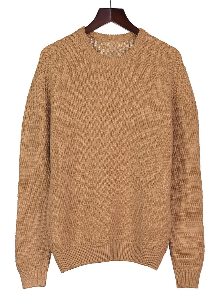 Cashmere 6 ply Round Neck Jumper, Jacket, Hickman & Bousfield - Hickman & Bousfield, Safari and Travel Clothing