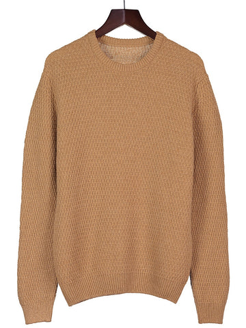 Mens Cashmere 6 ply Round Neck Jumper