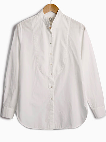 DRESS SHIRT IN WHITE POPLIN