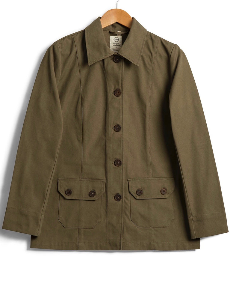 Crop Safari Jacket, Jacket, Hickman & Bousfield - Hickman & Bousfield, Safari and Travel Clothing