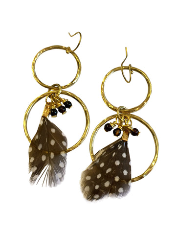 Ebo Feather Earrings