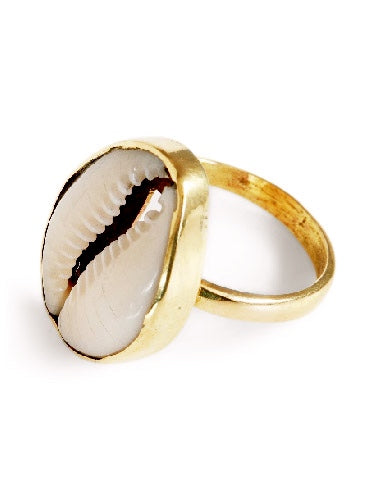 Cowrie Shell Ring, Jewellery, Soul Design - Hickman & Bousfield, Safari and Travel Clothing