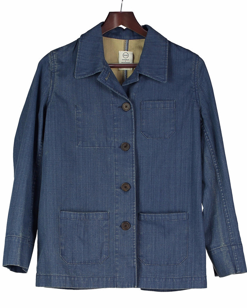 Denim BUSH JACKET, Jacket, Hickman & Bousfield - Hickman & Bousfield, Safari and Travel Clothing