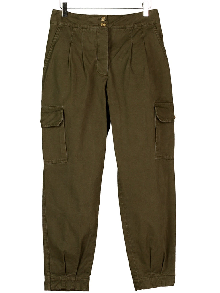 CARGO PANTS IN BARK TWILL, Hickman & Bousfield - Hickman & Bousfield, Safari and Travel Clothing