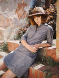 Safari Shirtdress in Chambray, Dress, Hickman & Bousfield - Hickman & Bousfield, Safari and Travel Clothing