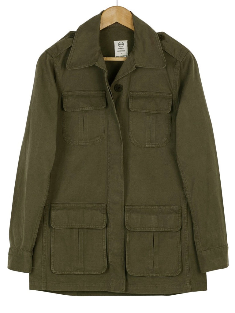 Canvas Field Jacket, Jacket, Hickman & Bousfield - Hickman & Bousfield, Safari and Travel Clothing