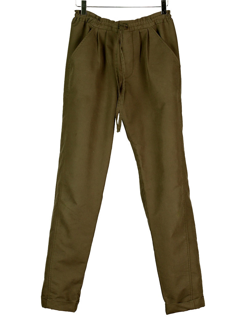 Draw-String Canvas Pants, Hickman & Bousfield - Hickman & Bousfield